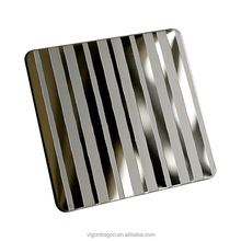 etched color stainless steel sheet
