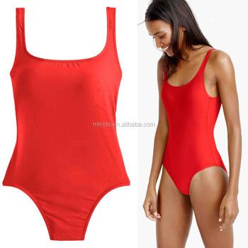 214d665202b women swimwear fancy japanese waterproof high cut factory Scoop back one- piece beachwear suit swimming