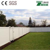 Backyard PVC fence/PVC Vinyl White Privacy Fence With Lattice