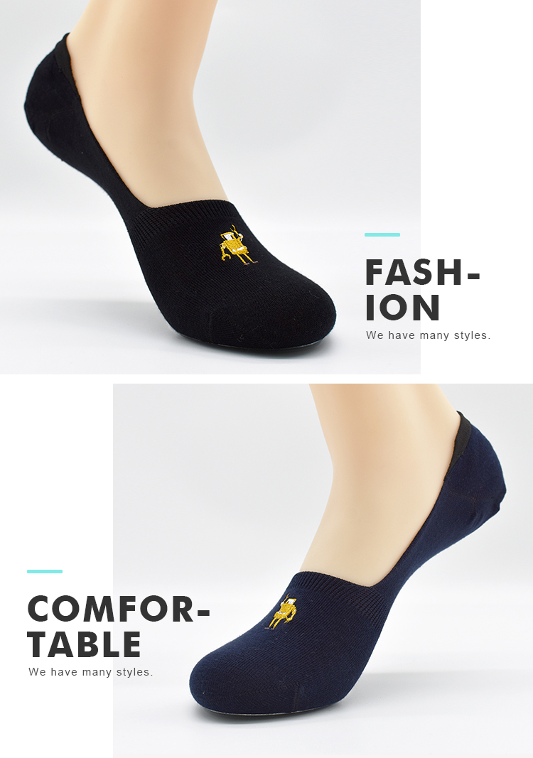 OEM Fashion Weekday Work Business Solid Color Robot Males No Show Invisible Manufacturers Hidden Socks