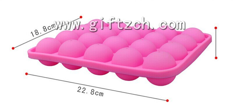 20 in 1 silicone lollipop mould, children silicone candy mould