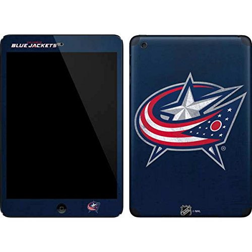 NHL Columbus Blue Jackets iPad Mini (1st & 2nd Gen) Skin - Columbus Blue Jackets Distressed Vinyl Decal Skin For Your iPad Mini (1st & 2nd Gen)