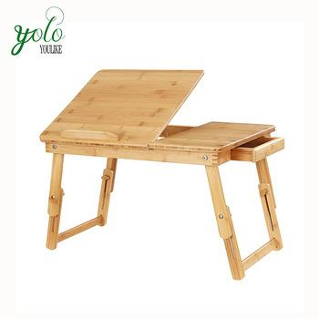 Mesa Bandeja Plegable.Bambu Lapdesk Cama Mesa Bandeja Plegable Ajustable Mesa De Desayuno Buy Bambu Lapdesk Mesa Cama Bandeja Mesa De Desayuno Ajustable Esk Product On