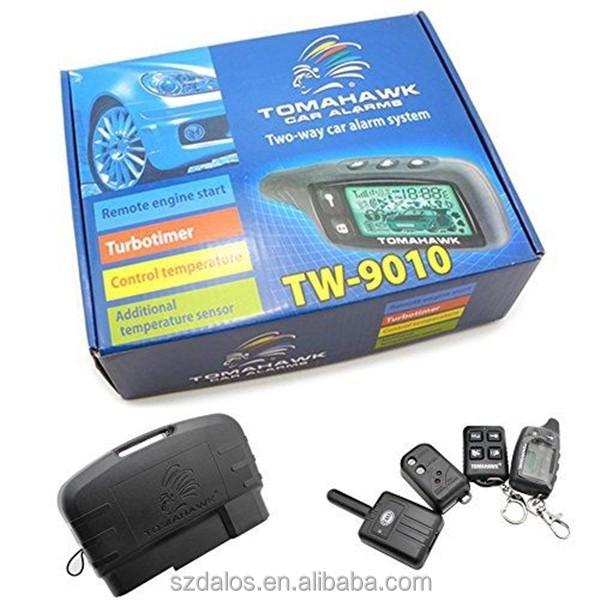 2-Way Car Alarm Security Alarm w// LCD Status Display and Remote Engine Start