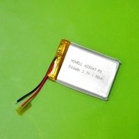 3.7v 500mah lithium polymer battery 721855 3.7v 500mah lp battery
