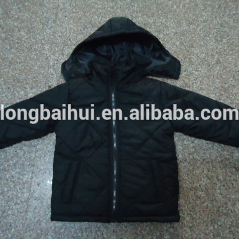 Winter hooded kind bomber jacket