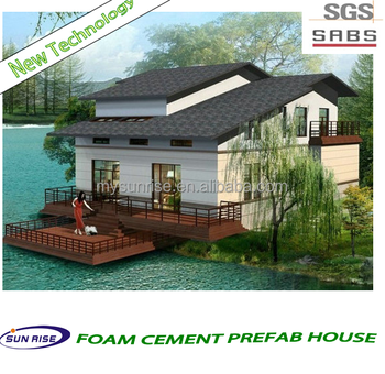 Low cost small 3 bedroom prefab modular home modular kit for Low cost home building kits