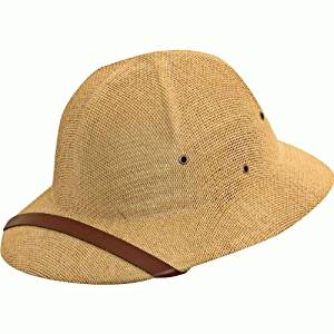 bde1896dc12cb Get Quotations · Dorfman Pacific Safari Pith Helmet