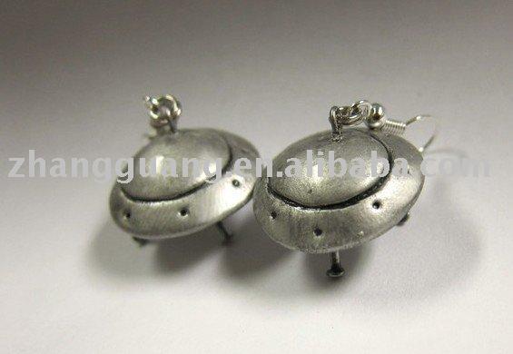 Space Little Ufo Earrings