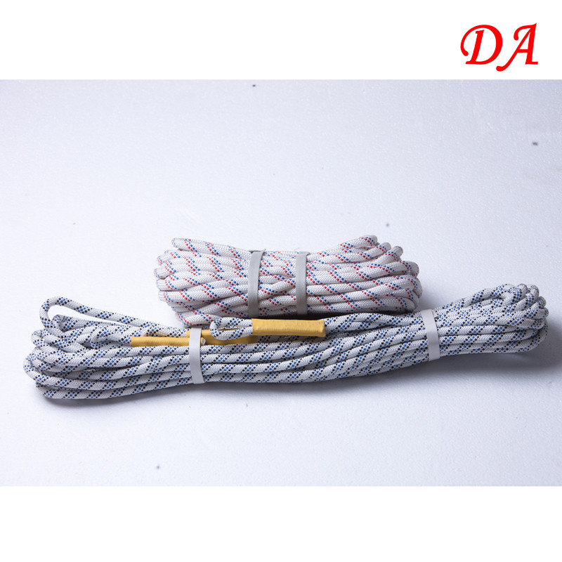 Energy-absorbing Outdoor Tool Polyester Safety-Rope With Rings