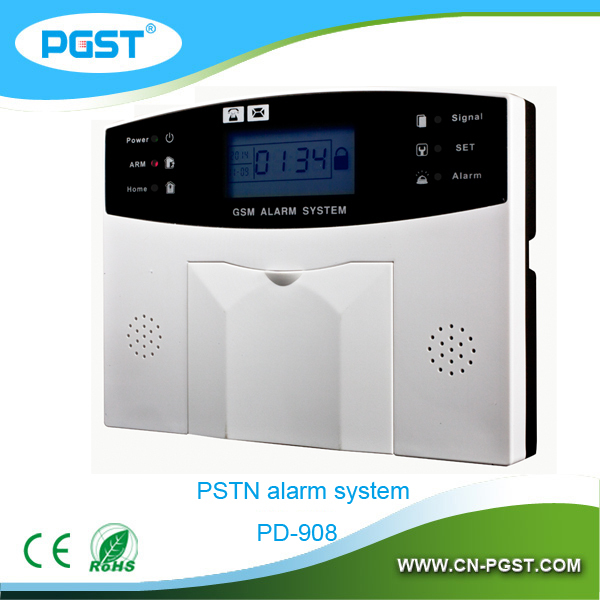 wireless digital home security alarm system gsm pstn dual network burglar alarm system ce rohs. Black Bedroom Furniture Sets. Home Design Ideas