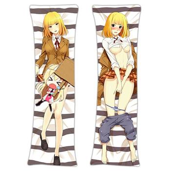 New Hana Midorikawa Prison School Anime Dakimakura Japanese Hugging Body Pillow Cover H2958