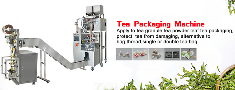 Factory price automatic triangle nylon tea bag sachet packing machine