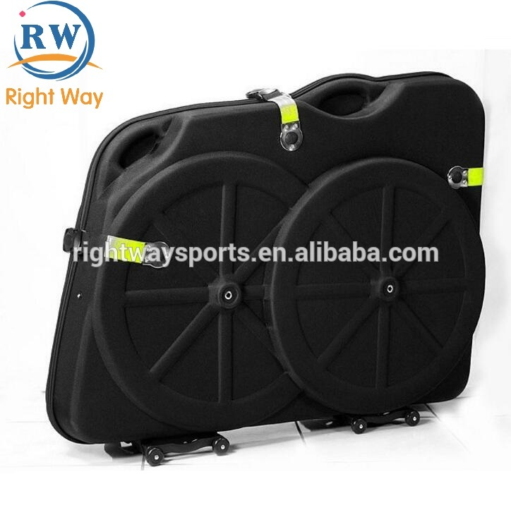 "Mtb Road Bike Accessory Eva Material Rainproof Bikes Hard Box Travel Case For 26''/27.5""/700c"