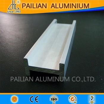 U perfil de aluminio para aplicaci n industrial 6063 - Perfil de aluminio precio ...