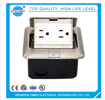 American AC 15A pop-up socket floor socket box
