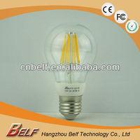 6Watt LED Filament Candelabra Light Bulb 60Watt Incandescent Replacement Warm White 2700K 550 LumensB22
