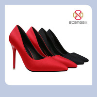 2017 Lates Fashion Red/Black Color Ladies/Women High Heel Shoes