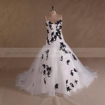 Spaghetti Strap White Black Beaded Plus Size Wedding Dress 2017 View Mermaid Bridal Product Details From Zhongshan
