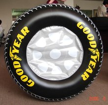 Giant Advertising Inflatable Tire Inflatable Tyre With Logo For Sale
