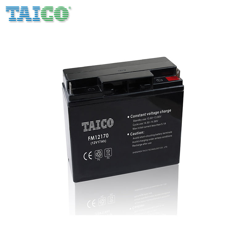FM12170 12v 17ah Rechargeable acid battery 12v batteries for EPS