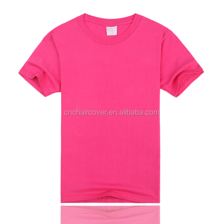 Cheap unisex plain blank pink t shirts buy t shirt for Where can i buy t shirts in bulk for cheap