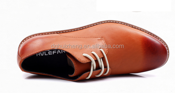 Hottest Wholesale Online Men Formal Dress Shoes Cheap Genuine Leather New Style Italian Man Cowhide Brown Shoes