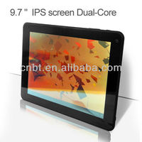 mid 9 7 inch tablet pc support double camera with IPS screen