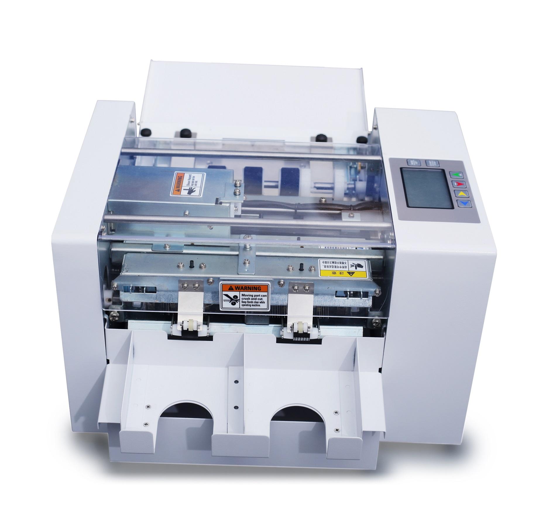 2019 fast speed plastic card cutter electric card cutter machine