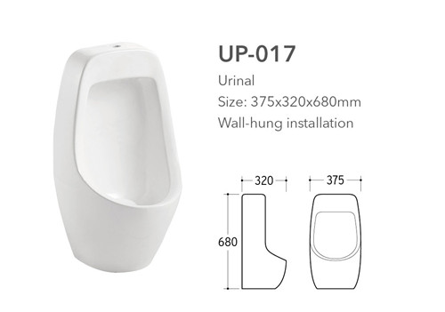china sanitary ware supplier small size ceramic corner wall mount urinal for child