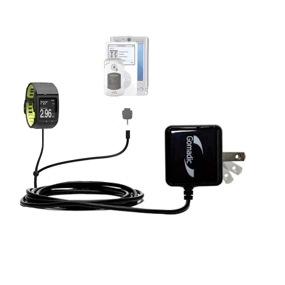 85ebe685e0 Get Quotations · Nike SportWatch GPS compatible Dual Wall   Travel AC  Charger - One Charger for up to