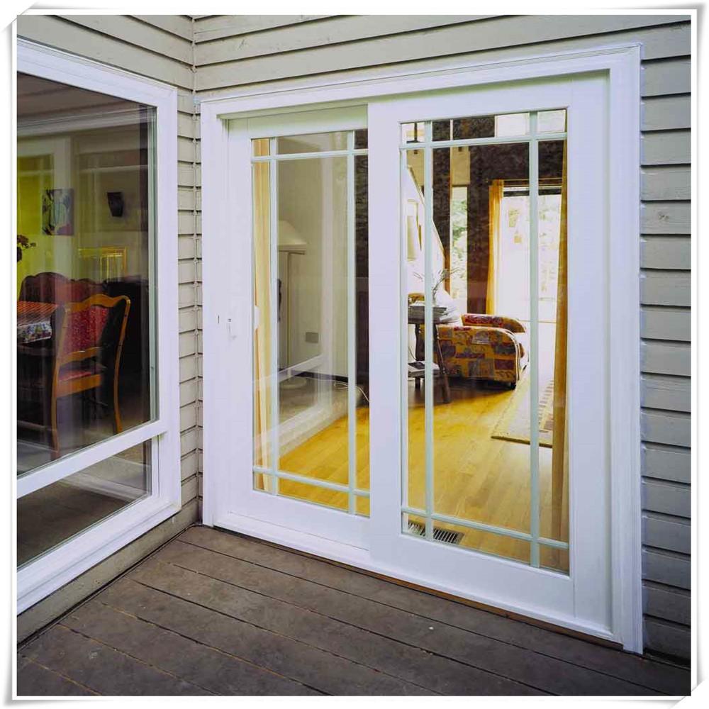 Franse stijl exterieur deur aluminium glazen deur voor for French door styles exterior