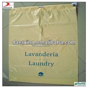 handmade drawstring laundry bag,uesd in hotel,made in DongGuan