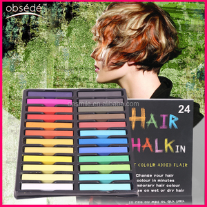 Professional Cheaper Wholesale Temporary hair chalk manufacturer color chalk for hair in stock in hair dye