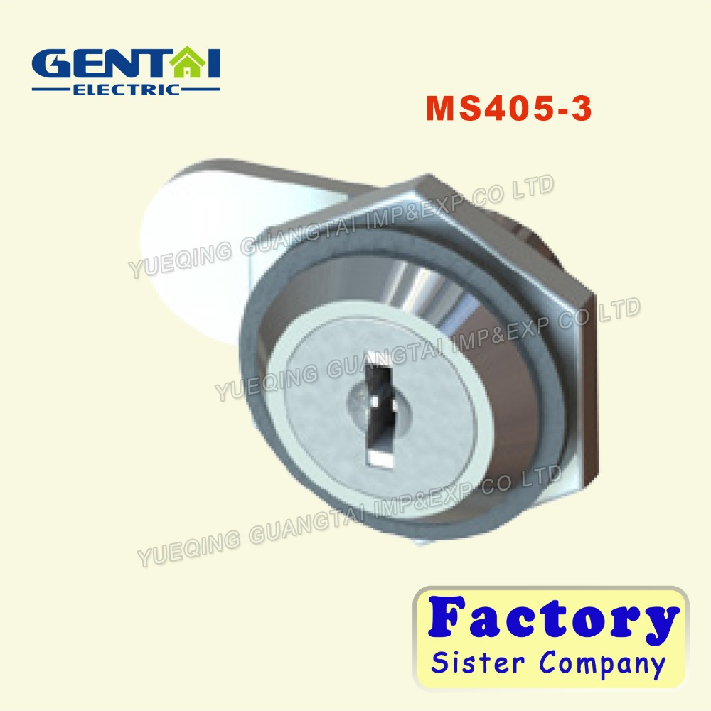 MS405-3 High Quality Zinc Alloy Cabinet Cam Lock Mailbox Lock Office Lock with Iron keys
