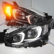 2013-2015 Year for Mazda 6 Atenza LED Headlights with HID Kit LF