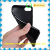 Simple Color Black Case For IPhone 7 Cell Phone Soft GEL Case Cover