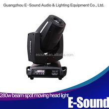Newest Type and strong power 280w moving head light with beam spot effect