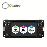 Ownice C500 8 Core Android 6.0 2G ram 32G ROM car stereo GPS for Jeep Grand Cherokee 2008 - 2013 Support OBD BAD TPMS 4G