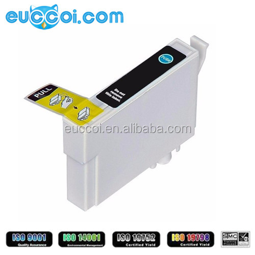 Cartridge with auto reset chip for Epson T1151 black replacement ink cartridge compatible for Epson Stylus T33/T1110/TX515FN