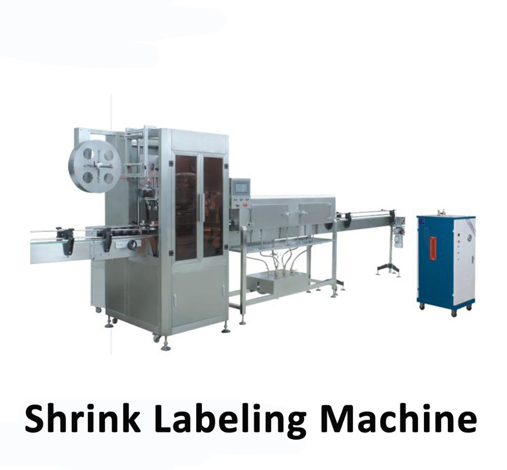 shrink sleeve labeling machine for pet water bottle or beverage bottle