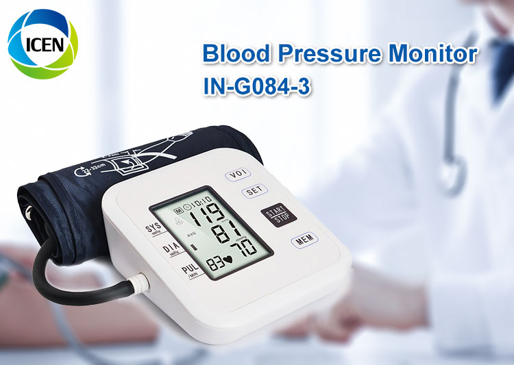 Rechargeable electronic blood pressure monitor Arm/Wrist blood pressure monitor