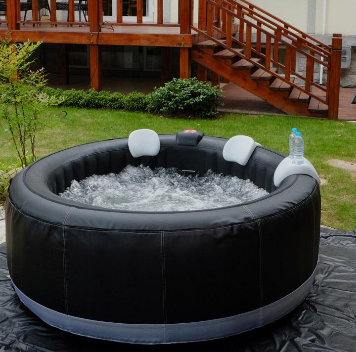 aqua spa ce saa certified soft tub whirlpool soft tub hot tub 4 person corner hot tub buy. Black Bedroom Furniture Sets. Home Design Ideas