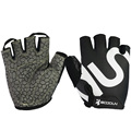 BOODUN Half Finger Weight Lifting Gloves for Women Men Meshed Lycra with Silica Gel Breathable Antiskid