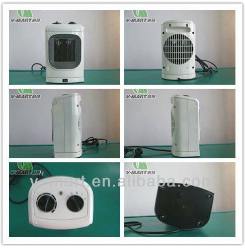V-mart Electric Room Heater Battery Powered Portable Thermostat ...