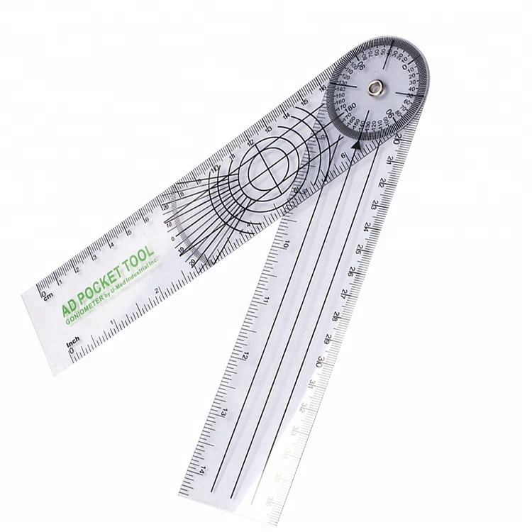 Trustful 0-300mm 12inch Goniometer 300mm Plastic Protractor Medical Ruler Angle Ruler Body Angle Measure Gauge Always Buy Good Tools Measurement & Analysis Instruments