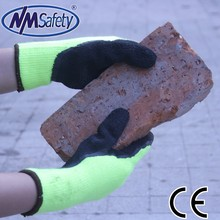 NMSAFETY personalized industrial hand care winter latex gloves