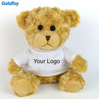 Custom Plush Teddy Bear Soft Logo