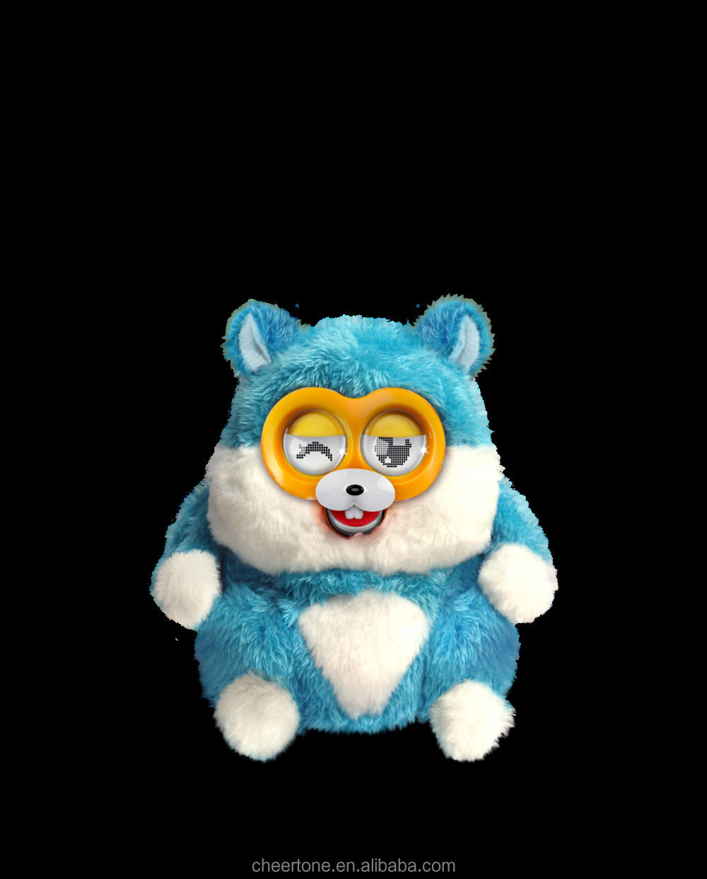 Walking Talking Singing Plush Toy electronic toy interactive with phone
