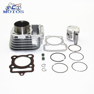 SCL-2012100042 Motorcycle Cylinder Block Piston Kit 56.5mm for CG125
